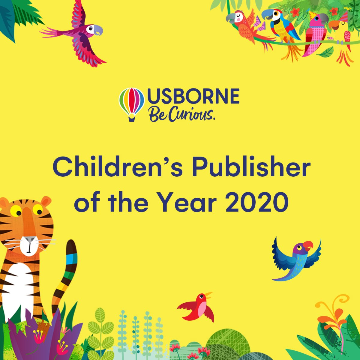 Usborne: Children's Publisher of the Year 2020