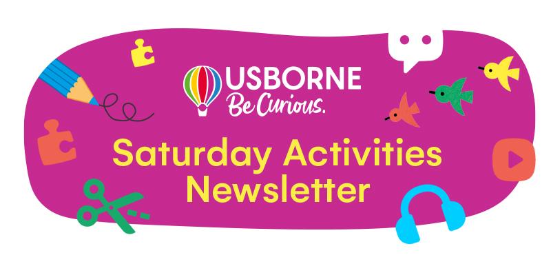 Saturday Activities from Usborne header image