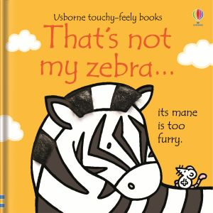 That's not my zebra…