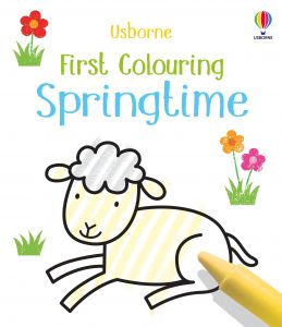 First Colouring Springtime