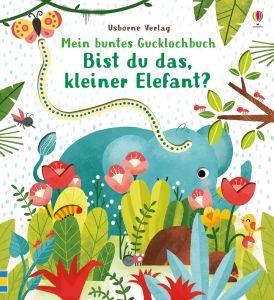 Mein buntes Gucklochbuch: Bist du das, kleiner Elefant?